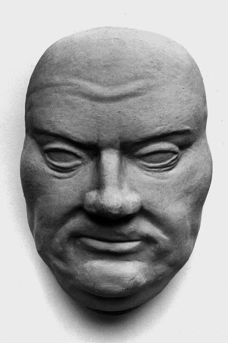 Angebliche Totenmaske Martin Luthers