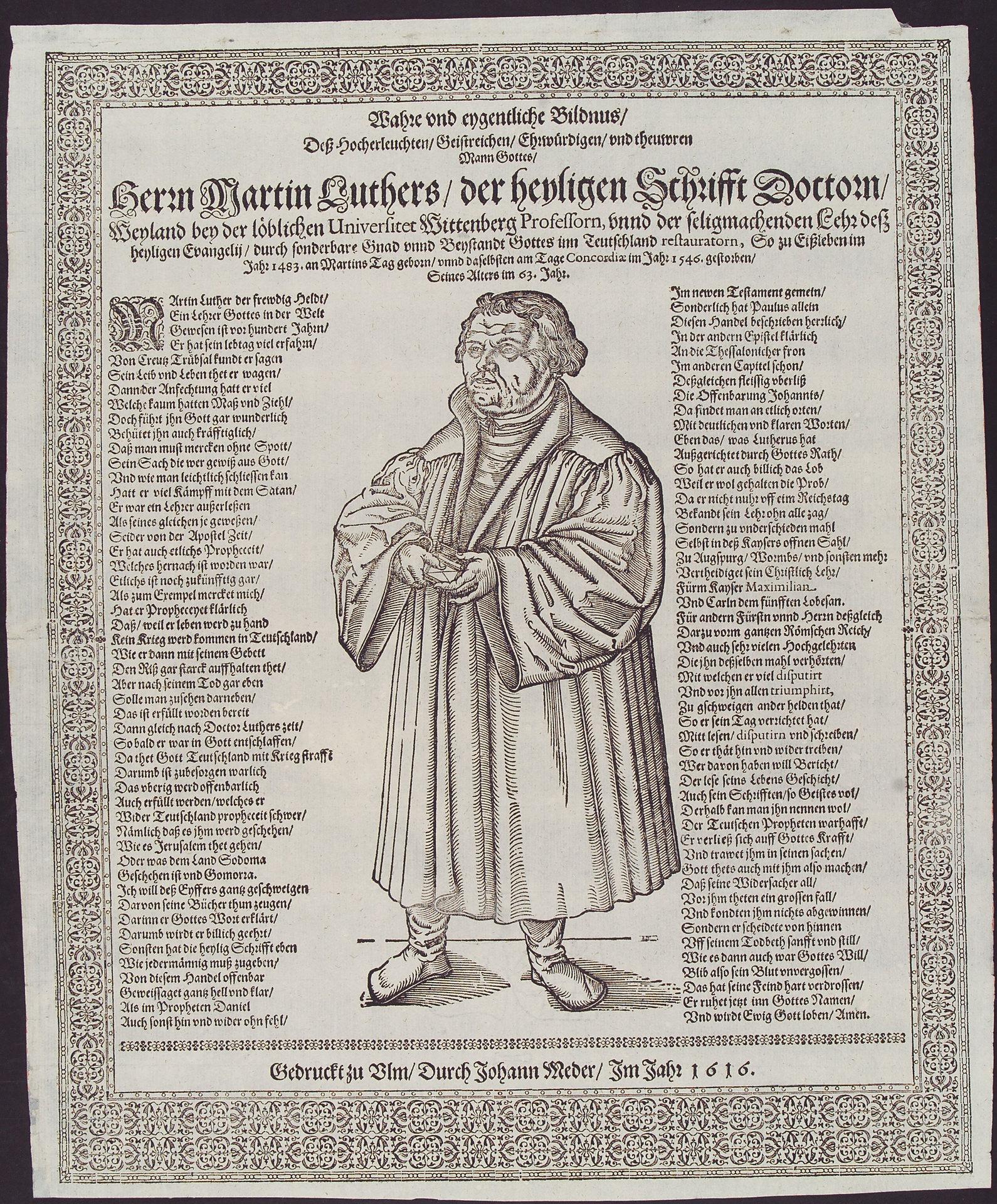 Wahre und eigentliche Bildnis Martin Luthers
