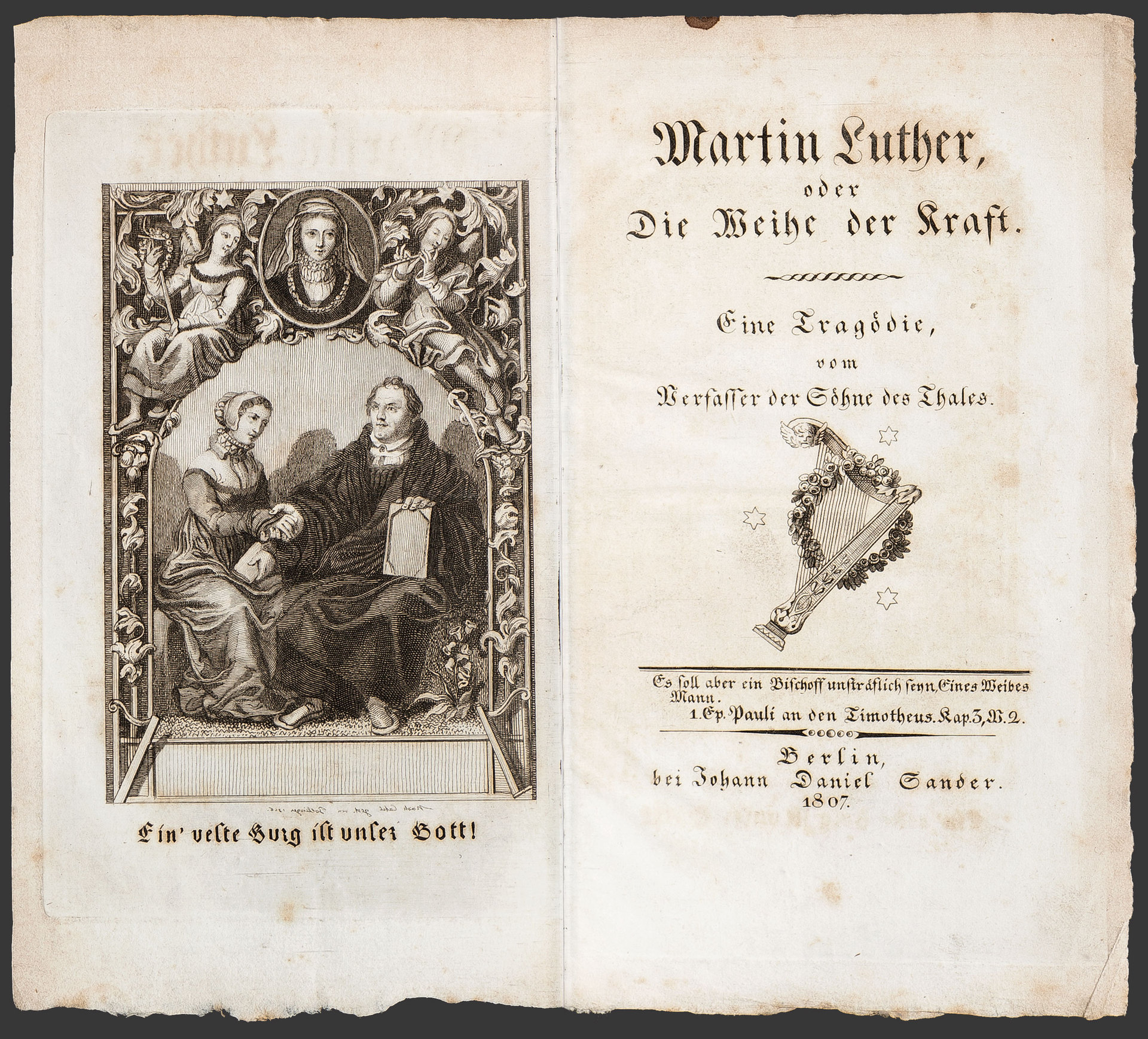 Martin Luther, oder Die Weihe der Kraft