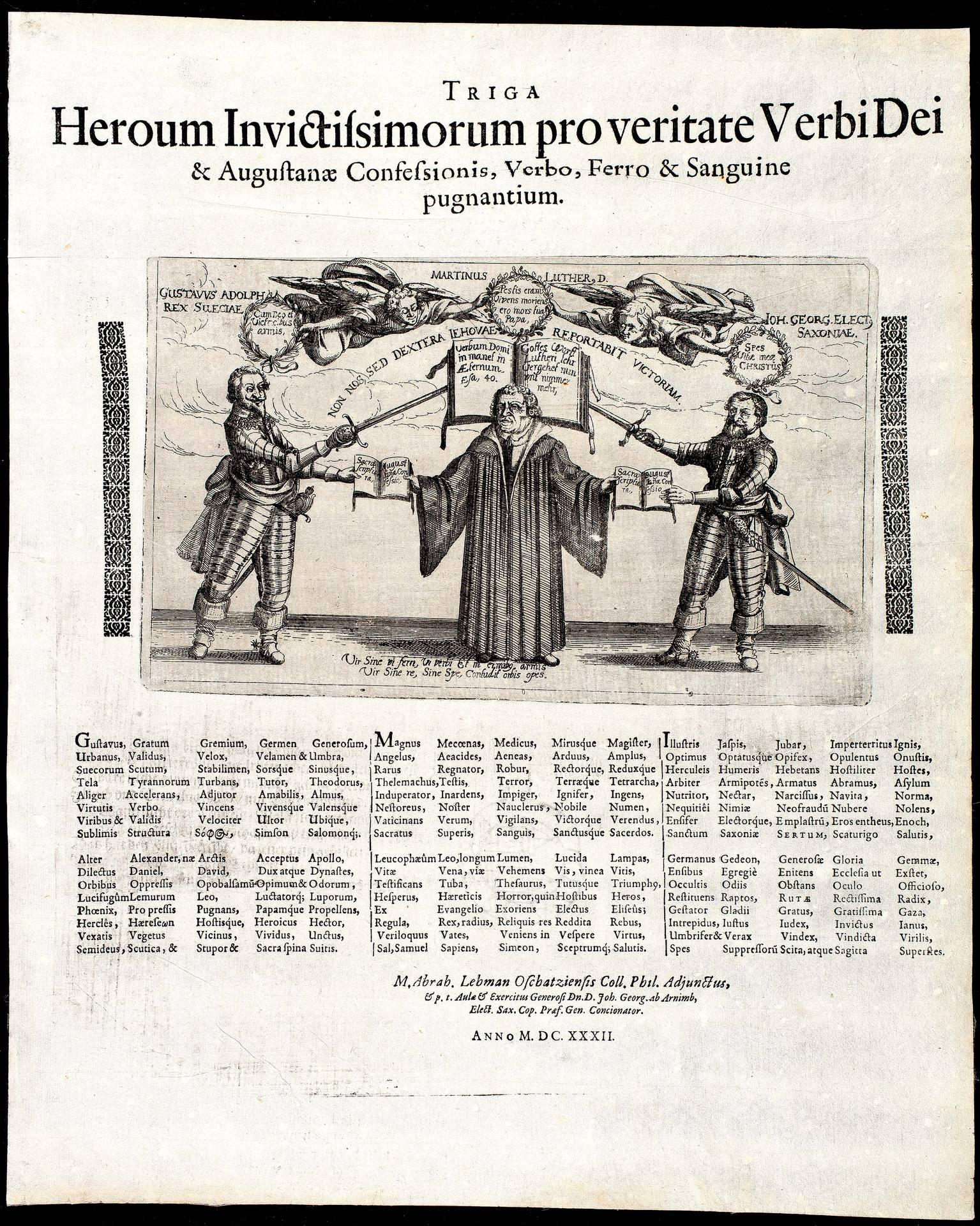 Triga Heroum Invictissimorum