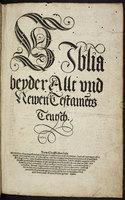 """Die """"Wormische Bibel"""""""